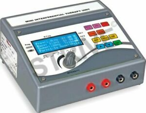 Compact Mini LCD Interferential Therapy Electrotherapy Massager Portable Unit