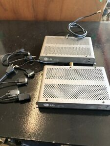 Lot Of 2 LG LST-4100A Control Box RS-232 HotelMotel TV Display Controller