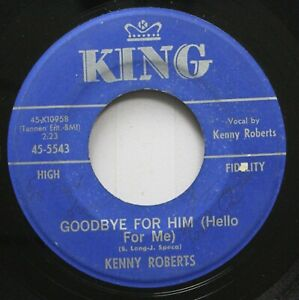 Country 45 Kenny Roberts Goodbye For Him Hello For Me Two Steps Forward T