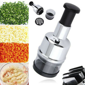 Magic Onion Chopper Food Vegetable Garlic Onion Dicer Mincer Cutter Peeler #