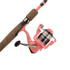 Fishing Spinning Rod and Reel Combo for Women Comfort Grip Lightweight Durable