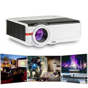 1080P Video Multimedia LED Home Theater Projector Backyard Movie Game HDMI USB