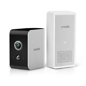 Zmodo Snap True Wire-Free Security Camera System 180 Wide Angle 1080p Full HD