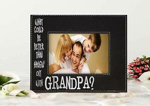 Personalized Gradpa's Picture Frame - Gift for Dad - Fathers Day, Birthday, Gift