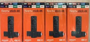 Amazon Fire TV Stick 4K with Alexa Voice Remote Lot Of 4 Free Priorty Shipping!!