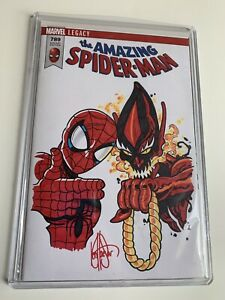 AMAZING SPIDER-MAN #789 Run The Jewels Variant Sketch by KEN HAESER