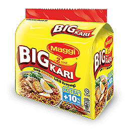 NESTLE MAGGI BIG INSTANT NOODLES 2 MINUTE (5X108g)