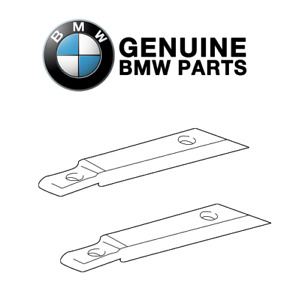 Pair Set of 2 Convertible Soft Top Tensioning Belts Genuine For BMW E46