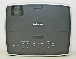InFocus IN26+EP Multimedia DLP 2200 Lumens Projector 1417 Hours