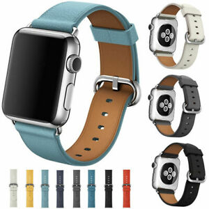 Leather Band Bracelet Strap For Apple Watch Series 4 3 2 1 38mm/40mm/42mm/44mm