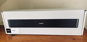 Bose Solo 5 TV Bluetooth Sound Bar System - Factory Renewed - Sealed!