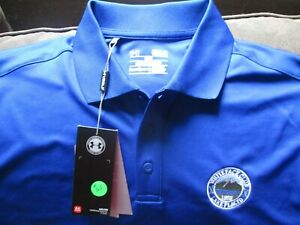 NEW UNDER ARMOUR POLO GOLF SHIRT Medium WHITEFACE CLUB LAKE PLACID PATCH $19.50