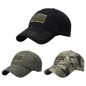 American Tonal Flag Baseball Caps Tactical Snapback Sun Hat Men Women Embroidery