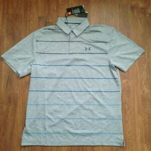 NWT Under Armour Apparel Mens CoolSwitch Pivot Polo Size L $62.95