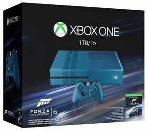 Xbox One 1TB Console - Limited Edition Forza 6 Bundle Brand New Factory Sealed