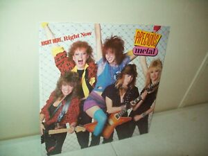 Precious Metal right here right now DEBUT Vinyl LP 1983 Polygram 826 146 1 M 1 $20.00