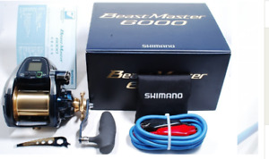 Shimano Beast Master 6000 Electric Reel Saltwater Used good