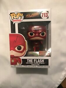 Funko POP Box Lunch EXCLUSIVE Metallic Flash #713 Vinyl Figure CW TV Show