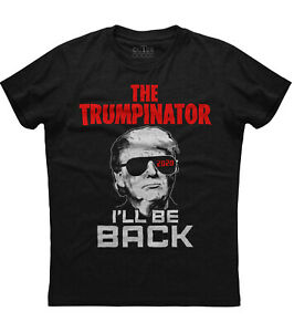 The Trumpinator T shirt Donald Trump President Funny Election 2024 New Men#x27;s Tee $14.95