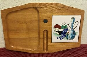 Cheese Cutting Board Magnetic Knife Holder Ceramic 4-3/8