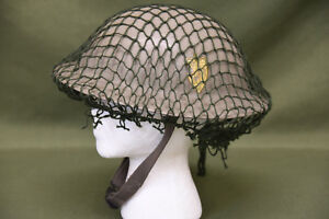 WWII Norwegian Brittish MK II Helmet Chin Strap and Netting #17