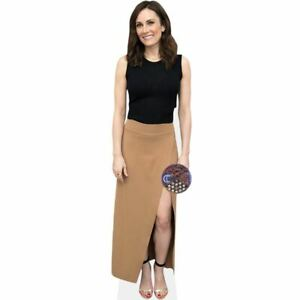 Laura Muller Black Top Cardboard Cutout mini size . Standee.
