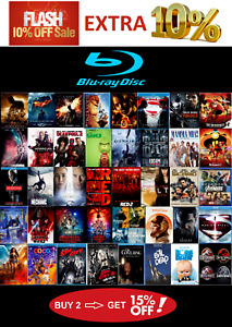Blu ray Movies - USA Discs - Some w/ Digital UHD 4K Copies - Updated Often