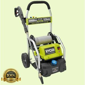 Electric Pressure Washer Reconditioned Water 2000 PSI 1.2GPM Power Cleaner $152.95
