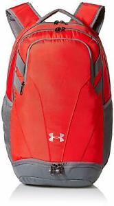 Under Armour Unisex Men Women UA Team Hustle 3.0 Backpack Bag Red 1306060 600 $37.99