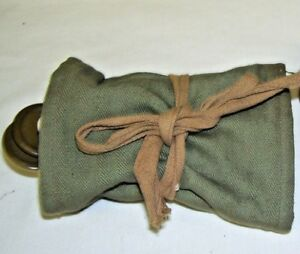 Antique Military Sewing Kit with Green and Brown Buttons $22.49