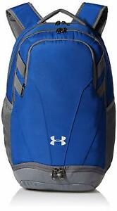 Under Armour Unisex Men Women UA Team Hustle 3.0 Backpack Bag Blue 1306060 400 $37.99