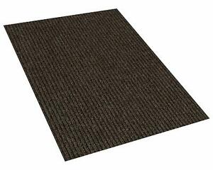 Brown Indoor Outdoor Area Rug Carpet with a Rubber Non Slip Backing 1 4quot; Thick $99.79