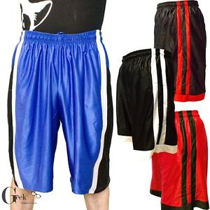 Quick-Dry Men Basketball Mesh Gym Fitness Shorts Hip Pop Workout Causal Athletic