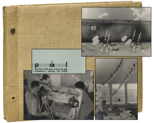 George PAL / Original Photo Album from Animation Productions First Edition 1932