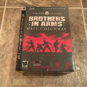 Brothers in Arms Hell's Highway Limited Edition PS3 New Factory Sealed RARE
