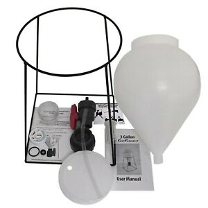 FastFerment Conical Fermenter - Home-Brew Kit - BPA Free Food Grade Primary C...