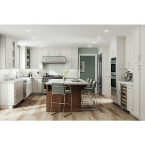Lily ann Cabinets 10x10 Wood Kitchen Cabinets Furniture  - Colorado White Shaker