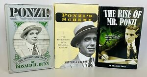 The Rise of Mr. Ponzi Charles Ponzi 1st Ed. Thus DJ Ponzi Scheme Fraud Conman
