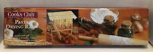 Cooks Club Pasta Wooden pasta drying rack 12 x 15 x 13 NEW