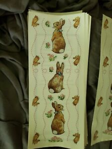 71 big stickers sheets PETER RABBIT THE WORLD OF BEATRIX POTTER scrapbooking