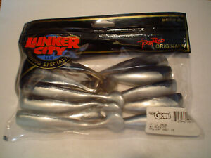LUNKER CITY 4 IN GRUB ALEWIFE 10CT