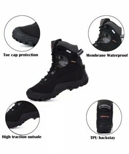 XPETI Thermator 8 Black Womens Size 9.5 High Top Hiking Boots