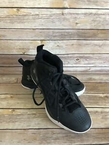 Under Armour High Top Basketball Shoes Size US 8.5 EUR 40 Womens Black Athletic
