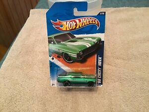 2011 Hot Wheels ~ Street Beasts ~ '68 Chevy Nova (green)