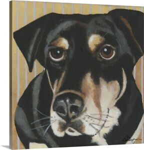 Dlynn's Dogs - Ginger Canvas Art Print