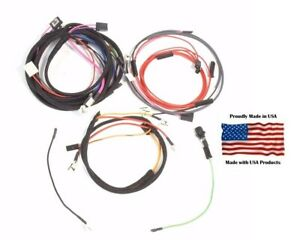 Farmall 140 Tractor SN 57724-62471 w Alternator Original Design Wiring Harness