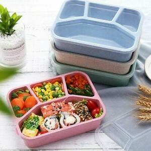 Microwave Bento Lunch Box Picnic Food Fruit Container Storage Box For Kids
