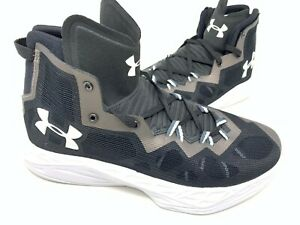 NEW! Under Armour Men's Lightning 4 Basketball Shoes Blk Wht Cop #130166 202S tz $62.99