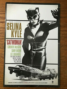 Catwoman #40 DC Comics 2015 NM Bullet Movie Poster Variant The New 52