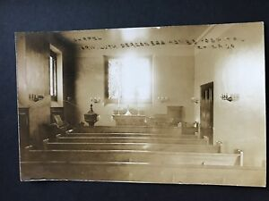 Norwegian Lutheran Deaconess Home and Hospital Chicago Vort Chapel RPPC